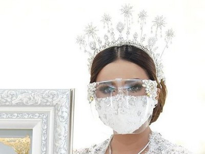 Cara Membuat Face Shield ala Aurel Hermansyah