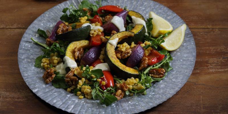 Resep Roasted Pumpkin Salad