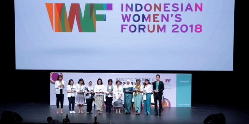 Indonesia Women's Forum 2018 dan Pencapaian Terbaik Wanita Indonesia