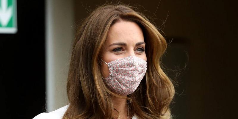 Masker Kain ala Kate Middleton