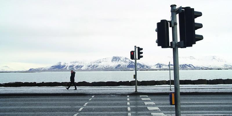 Menembus Angin dan Salju Reykjavik