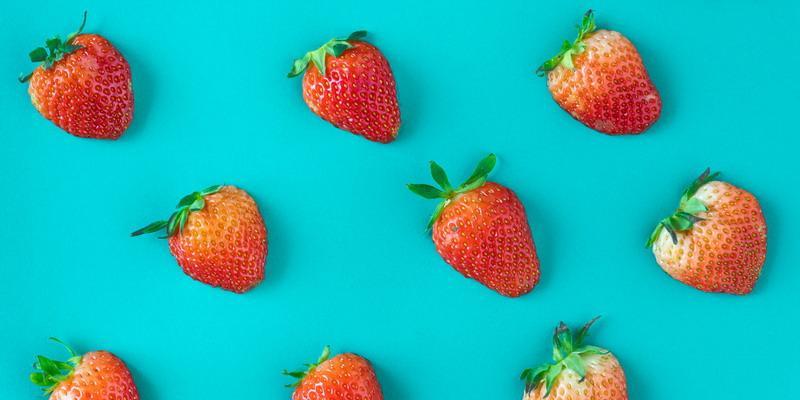 Stroberi untuk Obat Patah Hati