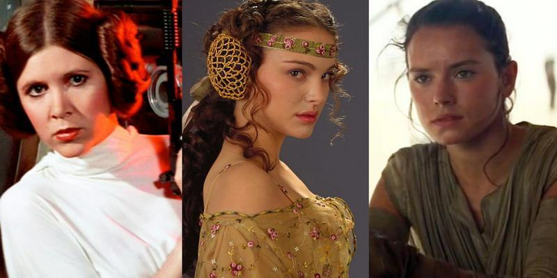 Inspirasi Cantik ala Wanita Star Wars